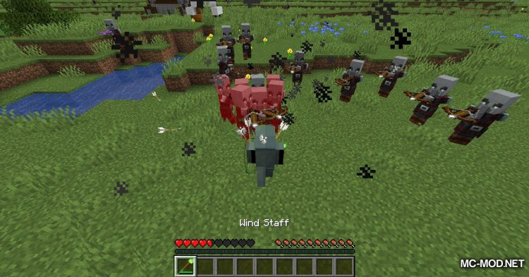 Elementary Staffs mod for Minecraft (11)