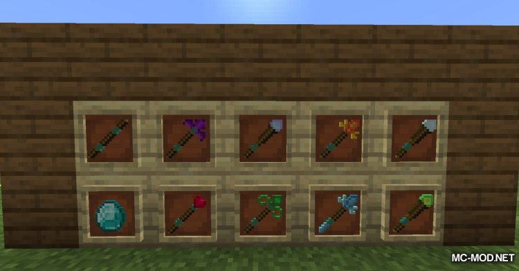 Elementary Staffs mod for Minecraft (18)