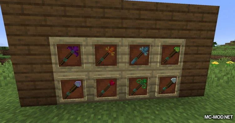 Elementary Staffs mod for Minecraft (5)