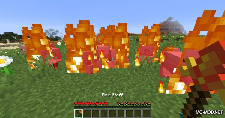 Elementary Staffs mod for Minecraft (6)