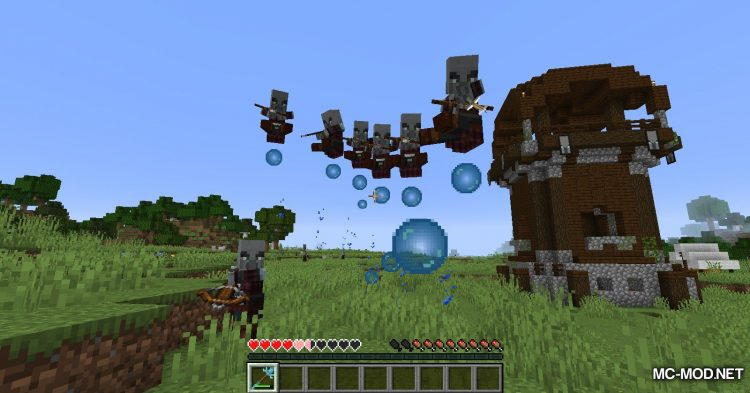 Elementary Staffs mod for Minecraft (9)