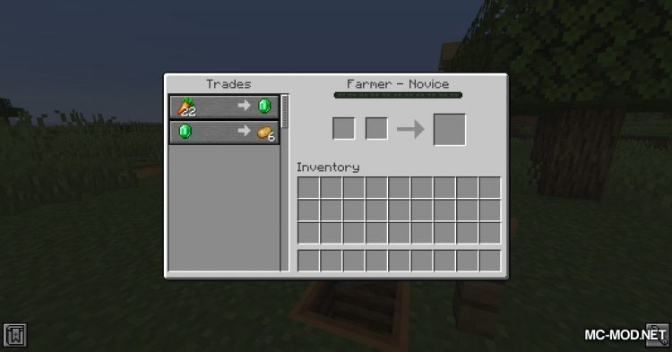 Extra Trades mod for Minecraft (6)