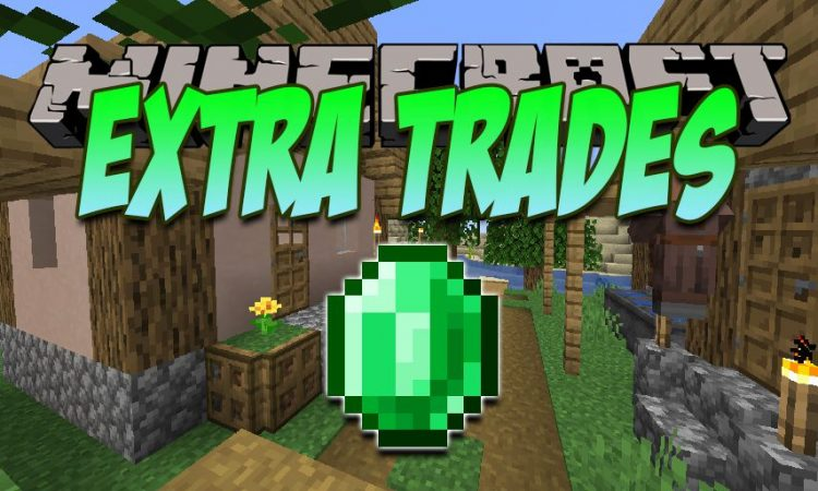 Extra Trades mod for Minecraft logo