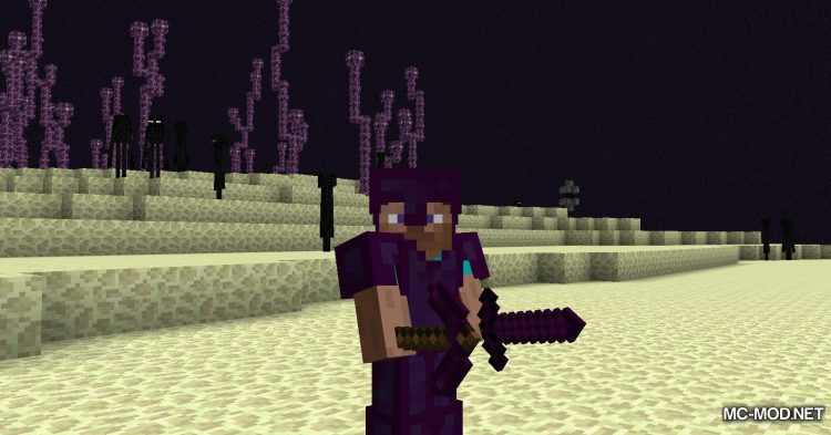 Galaxite Ore mod for Minecraft (10)