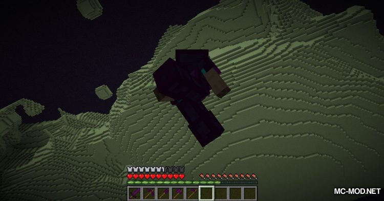 Galaxite Ore mod for Minecraft (14)