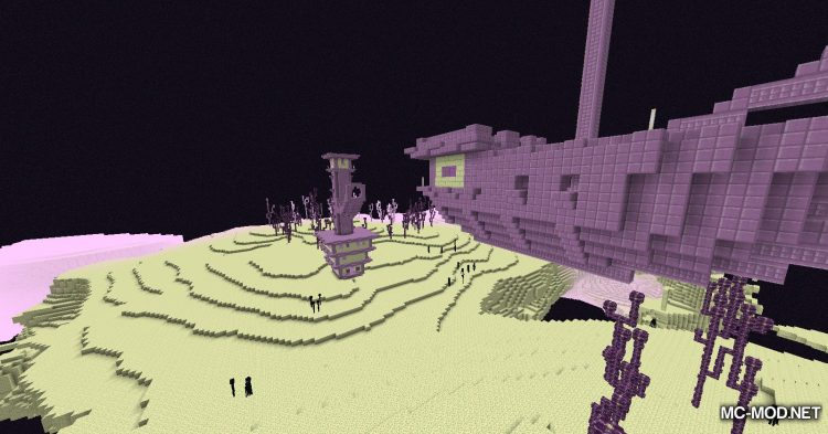 Galaxite Ore mod for Minecraft (2)