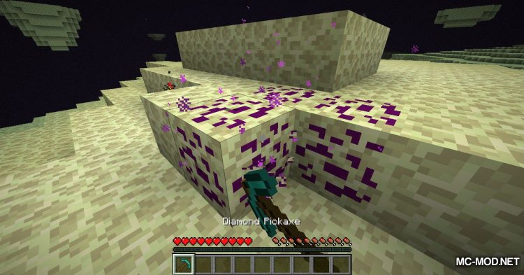 Galaxite Ore mod for Minecraft (5)