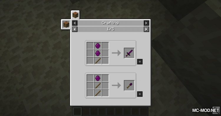 Galaxite Ore mod for Minecraft (7)