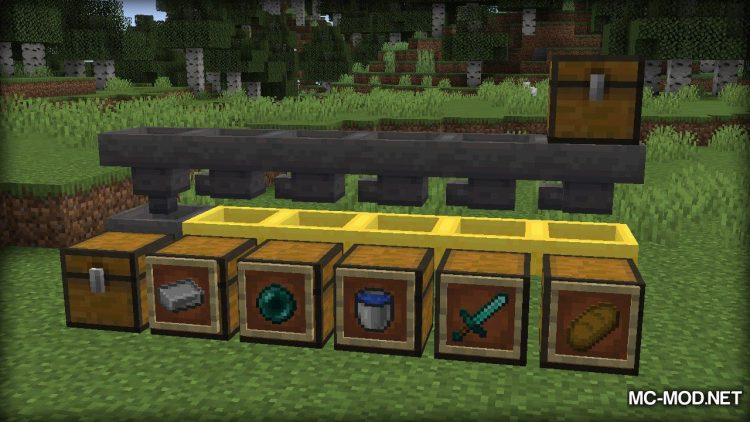 Golden Hopper mod for Minecraft (13)