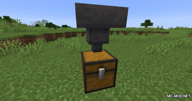 Golden Hopper mod for Minecraft (3)