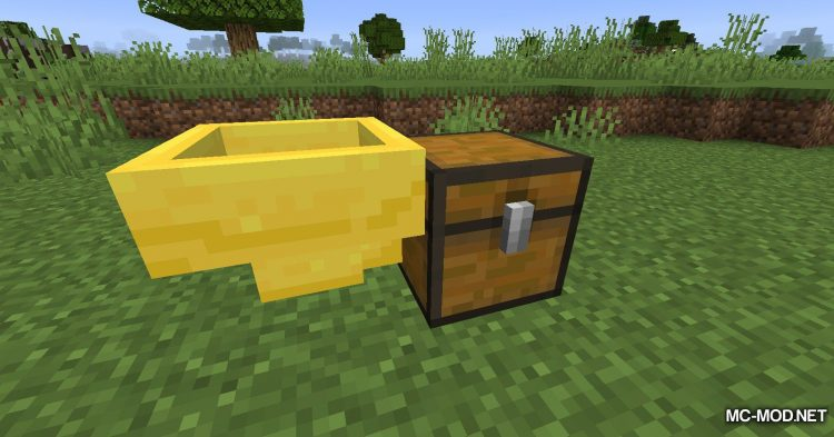 Golden Hopper mod for Minecraft (6)