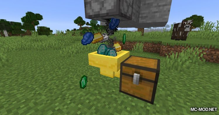 Golden Hopper mod for Minecraft (8)