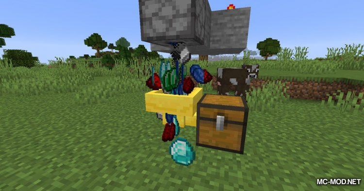 Golden Hopper mod for Minecraft (9)