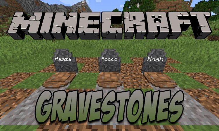 Gravestones mod for Minecraft logo