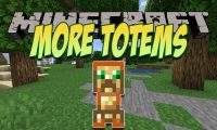 More Totems of Undying mod for Minecraft logo