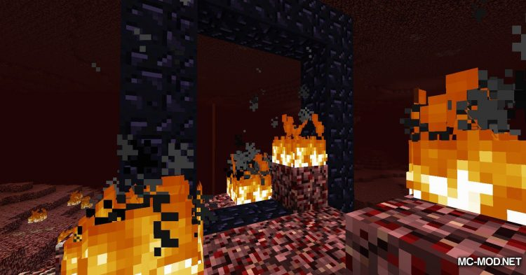 Natural Nether Portals mod for Minecraft (4)