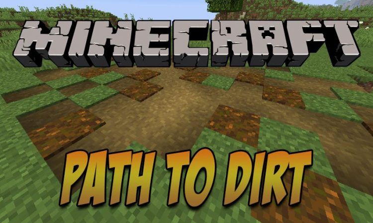 Path To Dirt mod for Minecraft logo