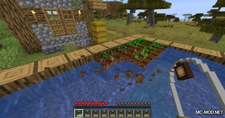 Pocket Plant mod for Minecraft (6)
