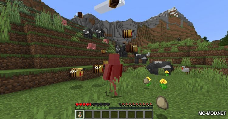Potion of Bees mod for Minecraft (11)