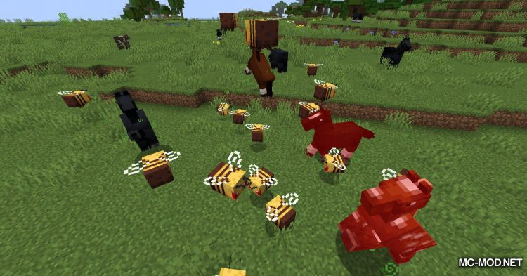 Potion of Bees mod for Minecraft (12)