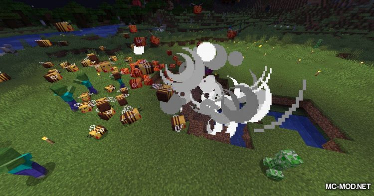 Potion of Bees mod for Minecraft (17)