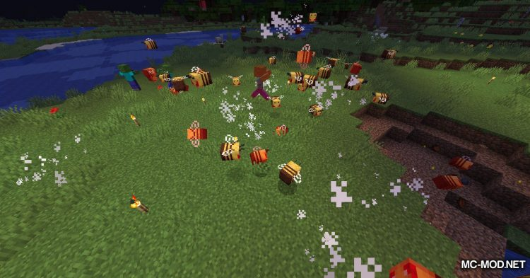 Potion of Bees mod for Minecraft (18)