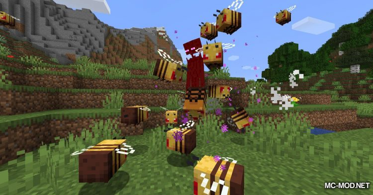 Potion of Bees mod for Minecraft (19)