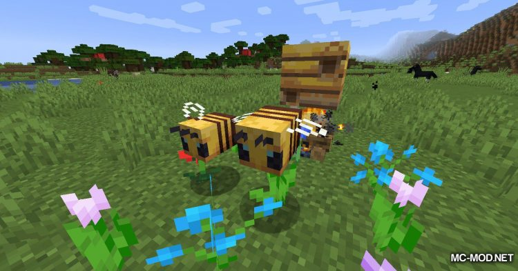 Potion of Bees mod for Minecraft (2)