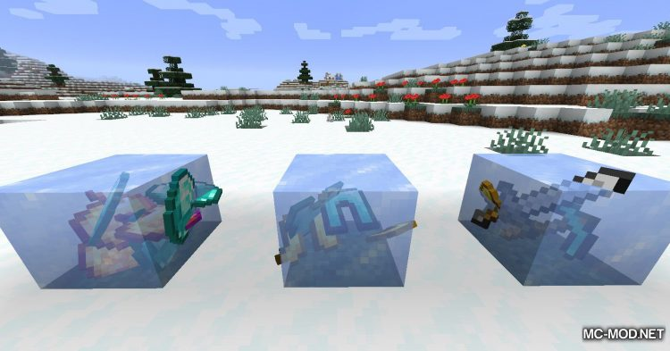 Rare Ice mod for Minecraft (10)