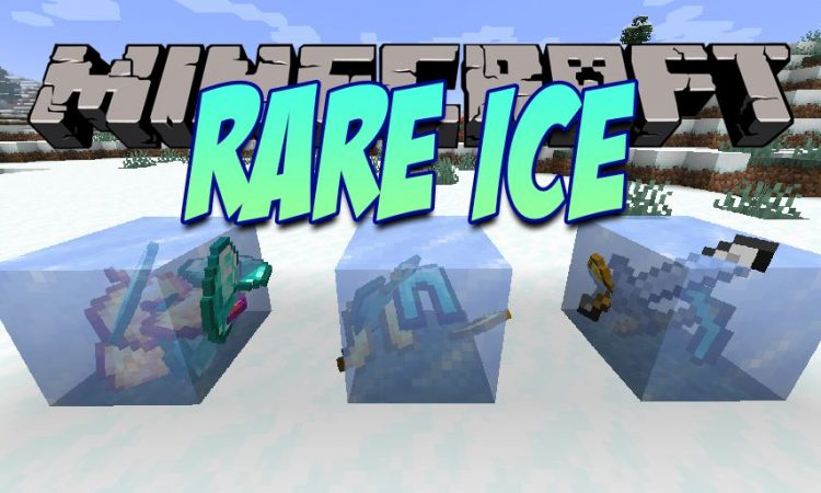 Rare Ice mod for Minecraft logo