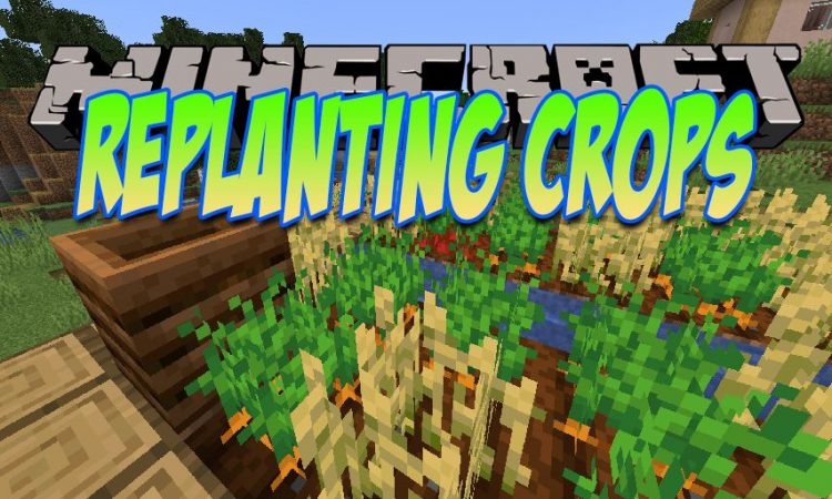 Replanting Crops mod for Minecraft logo