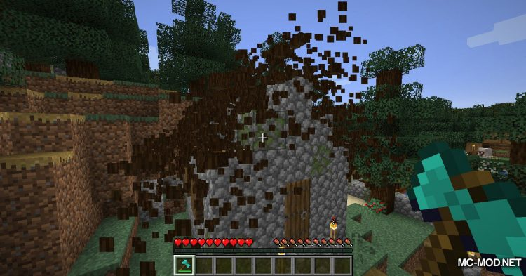 SuperAxes mod for Minecraft (10)