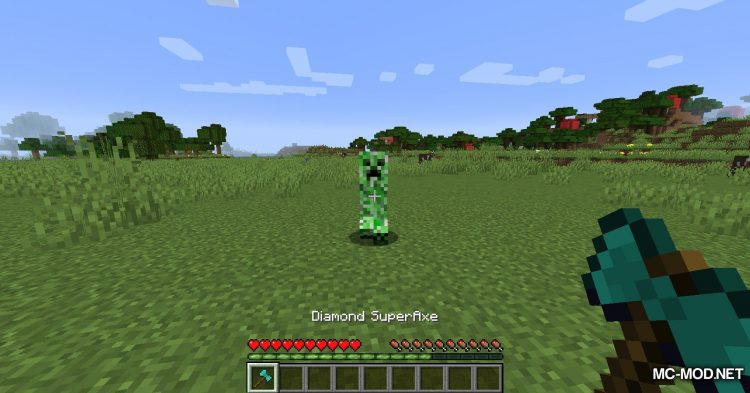 SuperAxes mod for Minecraft (14)