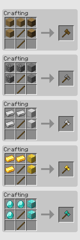 SuperAxes mod for Minecraft (16)