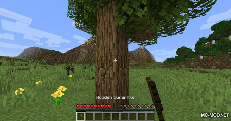SuperAxes mod for Minecraft (2)