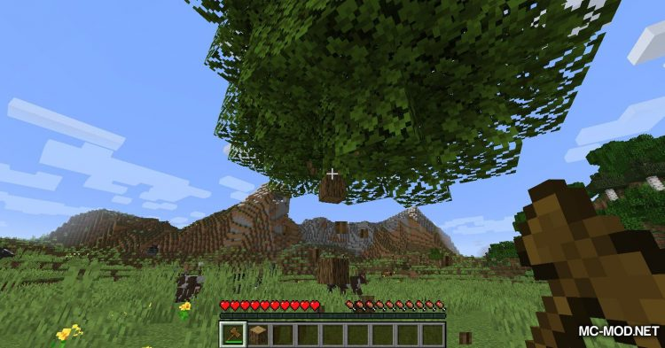 SuperAxes mod for Minecraft (3)