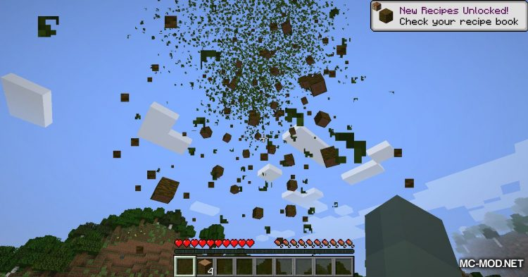 SuperAxes mod for Minecraft (8)