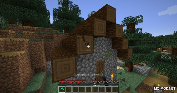 SuperAxes mod for Minecraft (9)