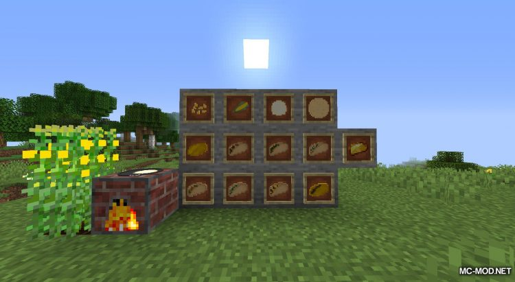 TacoCraft mod for Minecraft (1)
