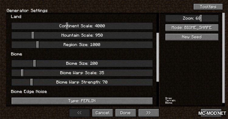 TerraForged mod for Minecraft (2)