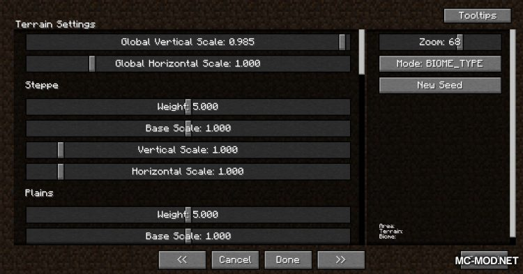TerraForged mod for Minecraft (3)