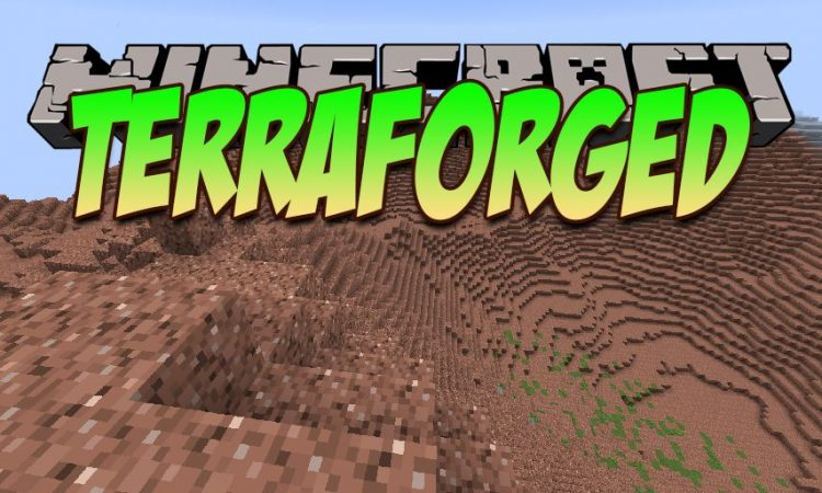 TerraForged mod for Minecraft logo