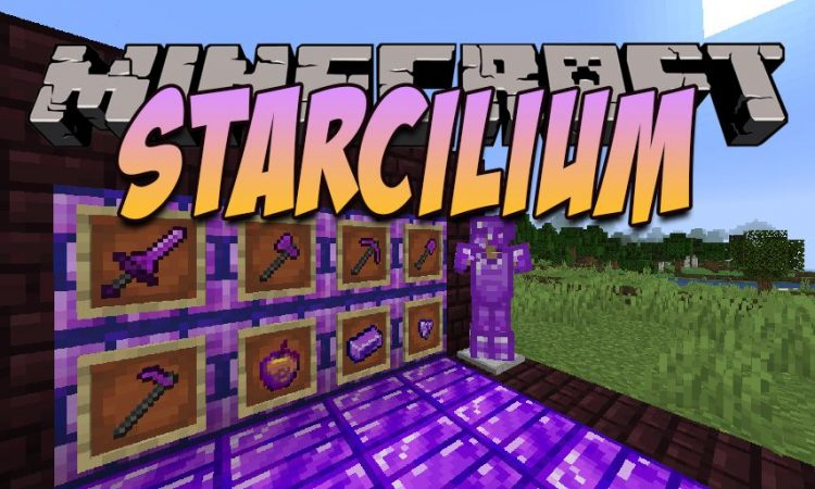 The Starcilium Mod mod for Minecraft logo