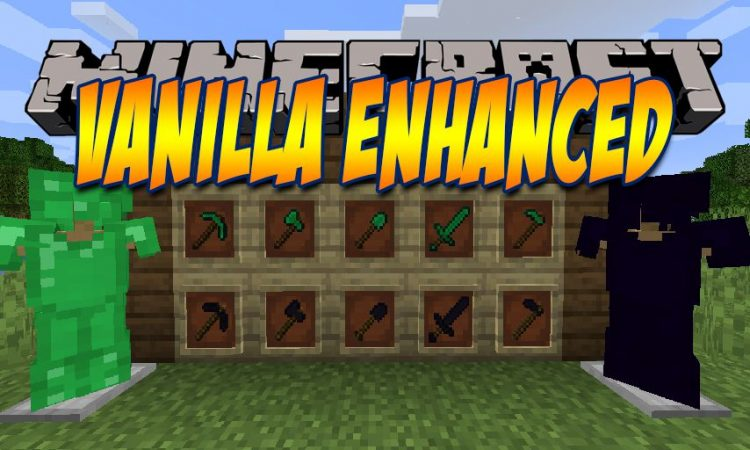 Vanilla Enhanced mod for Minecraft logo