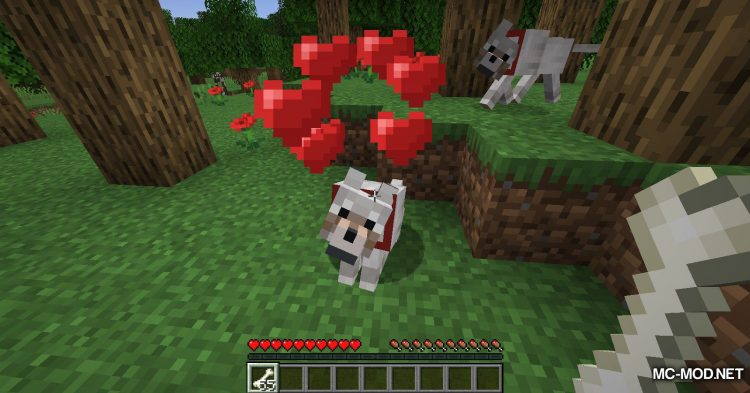 Wolves With Armor mod for Minecraft (3)