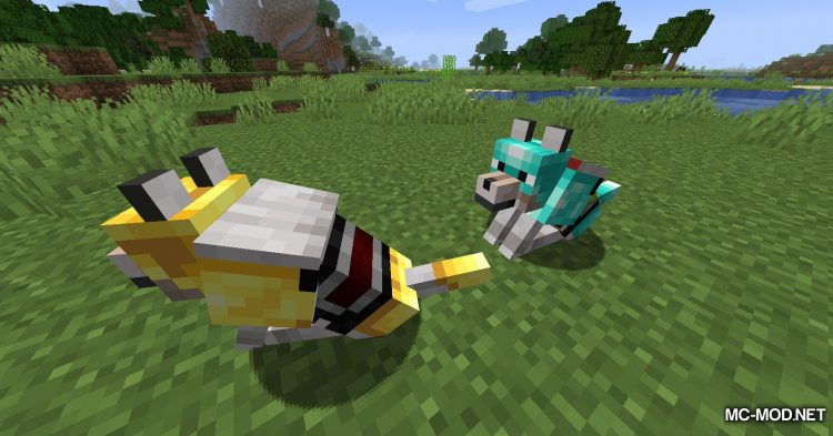 Wolves With Armor mod for Minecraft (8)