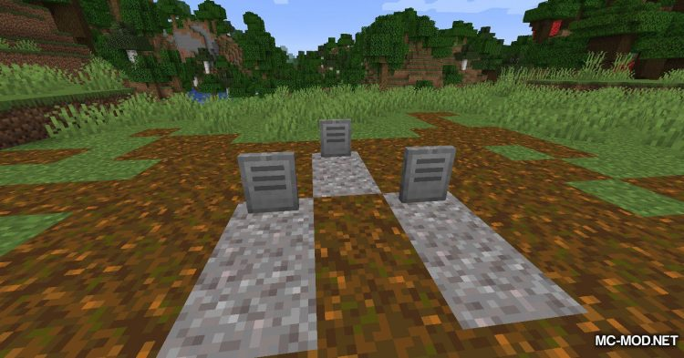 Yet Another Gravestone Mod mod for Minecraft (12)