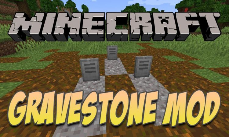 Yet Another Gravestone Mod mod for Minecraft logo