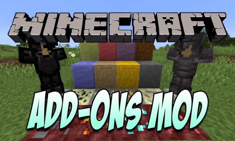 Add-ons Mod mod for Minecraft logo