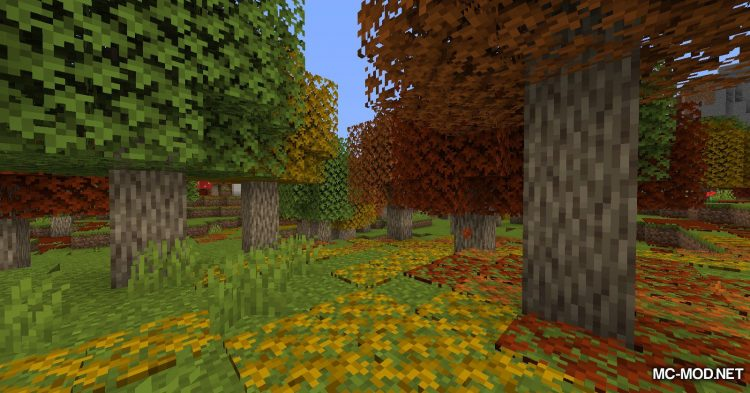 Autumnity mod for Minecraft (1)